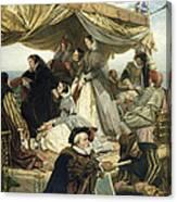 Mary Stuart's Farewell To France Canvas Print