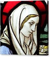 Mary Tears Canvas Print