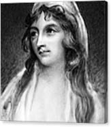 Mary Tighe (1772-1810) Canvas Print