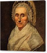 Mary Washington - First Lady  Canvas Print