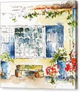 Mas St Antoine Canvas Print