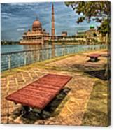 Masjid Putra Canvas Print
