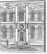 Masonic Hall, C1830 Canvas Print