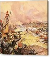 Massacre At Ulundi Canvas Print