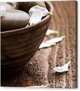 Massage Stones  Canvas Print