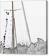 Mast Head Canvas Print
