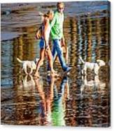 Matching Couples Canvas Print