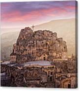 Matera Sassi Canvas Print