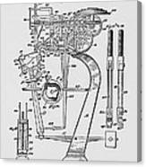 Matzeliger's Lasting Machine Canvas Print