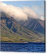 Maui Pano Canvas Print