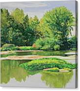 Maumee Reflection Canvas Print