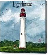 May The Magnificent Lighthouse  Canvas Print