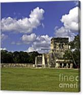 Mayan Ball Court Canvas Print