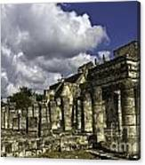 Mayan Colonnade Canvas Print
