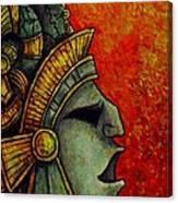 Mayan Mask II Canvas Print