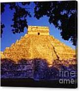 Mayan Pyramid Canvas Print