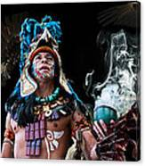 Mayan Spirit Canvas Print