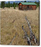 Mccarthy Family Cabin Glacier National Park Canvas Print