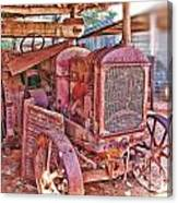 Mccormack Deering Tractor  Canvas Print