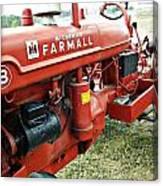 Mccormick Farmall Canvas Print