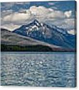 Mcdonald Lake Super Panorama Canvas Print