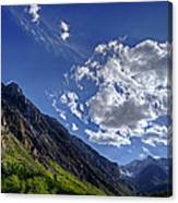 Mcgee Creek Canyon Canvas Print