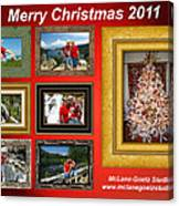 Mclanegoetz Studio Christmas Card Canvas Print