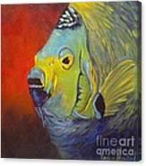 Mean Green Fish Canvas Print
