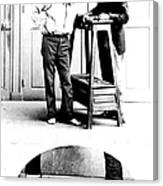 Measurement Of The Cubit, Bertillon Canvas Print