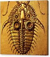 Mecha-trilobite 3 Canvas Print