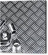 Mechanical Socket Background Canvas Print