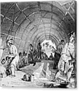 Medicine Dance Of The Winnebagos Canvas Print