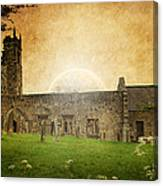 Medieval Church Canvas Print