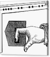 Medieval Finger Pillory Canvas Print