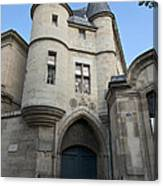 Medieval Tower Of Hotel De Soubise Canvas Print