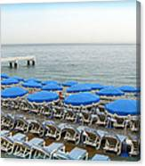 Mediterranean Blue Canvas Print