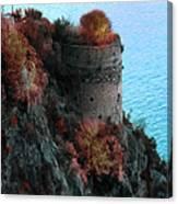 Mediterranean Turret Canvas Print