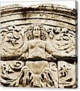 Medusa Of Ephesus Turkey Canvas Print