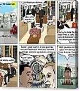 Meeting Puting  Canvas Print