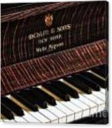 Mehlin And Sons Piano Canvas Print