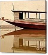 Mekong Reflection 2 Canvas Print