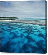 Meldives Paradise Canvas Print
