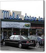 Mel's Drive-in Diner In San Francisco - 5d18012 Canvas Print