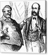 Men Drinking, 1872 Canvas Print