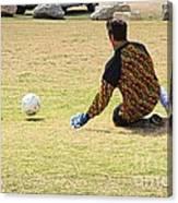 Men Soccer Action 1 Canvas Print