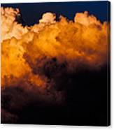 Menacing Cloud Canvas Print