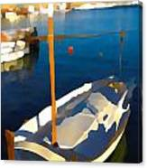 Menorcan Fishing Boat 2 Canvas Print