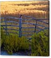 Menorcan Five Bar Gate Canvas Print