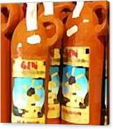 Menorcan Gin Canvas Print