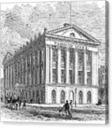 Mercantile Library, C1830 Canvas Print